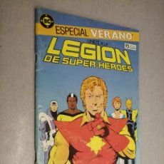 Comics: ÚNETE A LA LEGIÓN DE SÚPER HÉROES - ESPECIAL VERANO 1987 / DC - ZINCO. Lote 203074807
