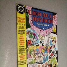 Comics: LIGA DE LA JUSTICIA AMÉRICA Nº 4 - ESPECIAL VERANO 1990 / DC - ZINCO. Lote 203114830