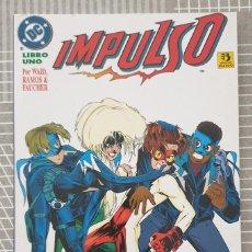 Cómics: IMPULSO DE MARK WAID Y HUMBERTO RAMOS. TOMO UNICO. EDICIONES ZINCO 1996. Lote 203168837