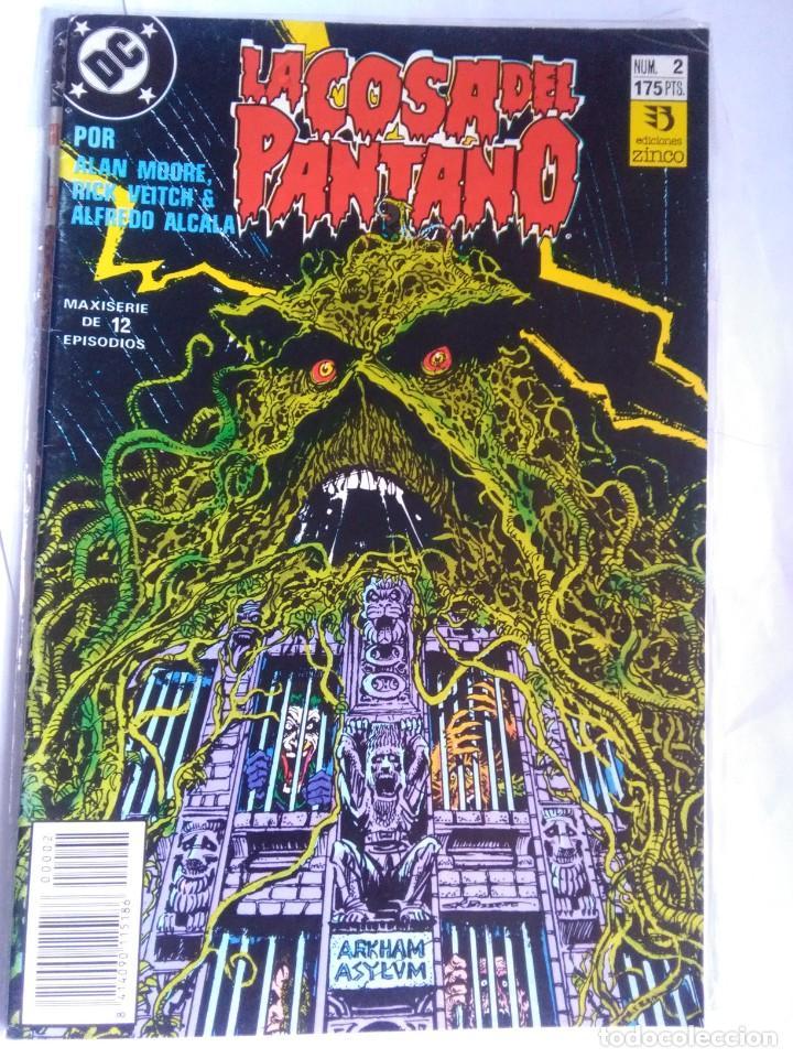 LA COSA DEL PANTANO 2 (Tebeos y Comics - Zinco - Cosa del Pantano)