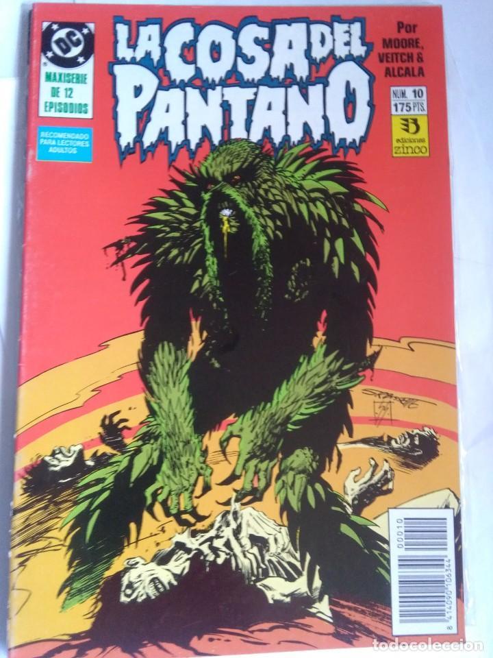 LA COSA DEL PANTANO 10 (Tebeos y Comics - Zinco - Cosa del Pantano)