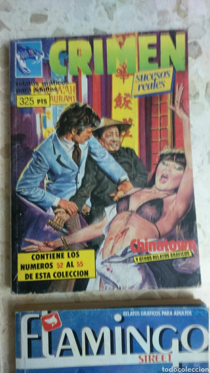 Cómics: COMIC EROTICO RETAPADOS :DELITO, YAMBO, TROGLOS, FLAMINGO, CRIMEN - Foto 3 - 203199612