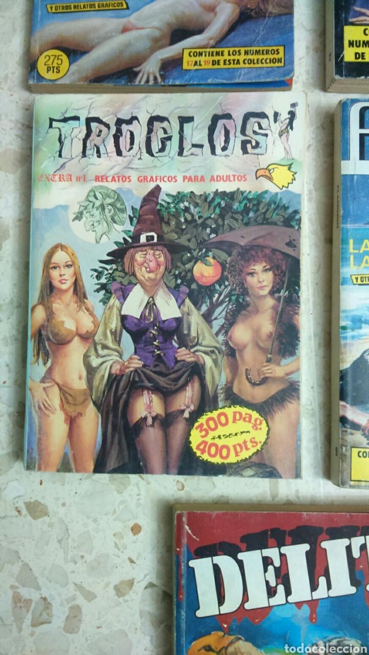 Cómics: COMIC EROTICO RETAPADOS :DELITO, YAMBO, TROGLOS, FLAMINGO, CRIMEN - Foto 4 - 203199612