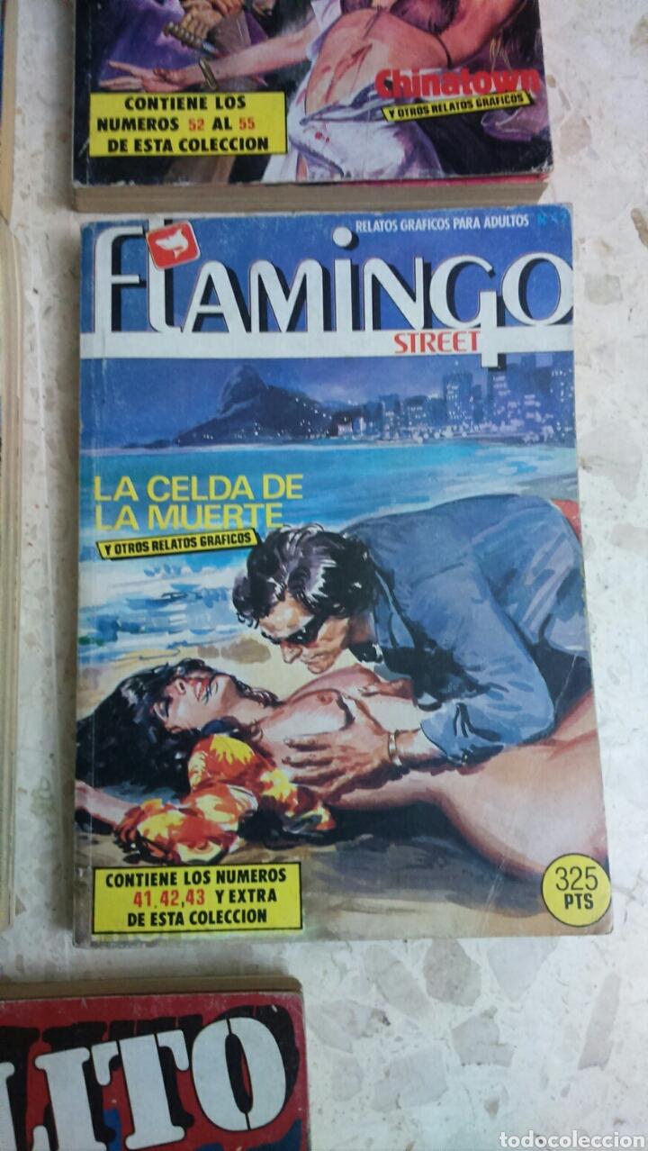 Cómics: COMIC EROTICO RETAPADOS :DELITO, YAMBO, TROGLOS, FLAMINGO, CRIMEN - Foto 5 - 203199612