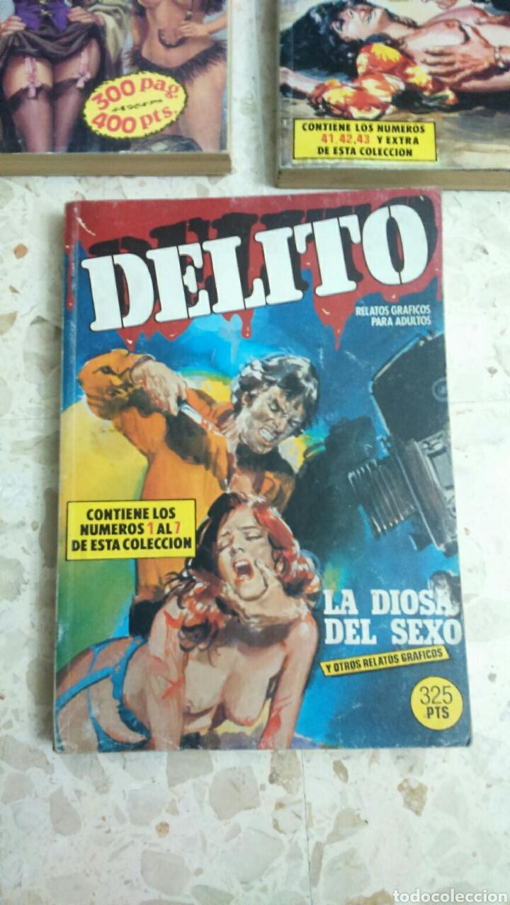 Cómics: COMIC EROTICO RETAPADOS :DELITO, YAMBO, TROGLOS, FLAMINGO, CRIMEN - Foto 6 - 203199612