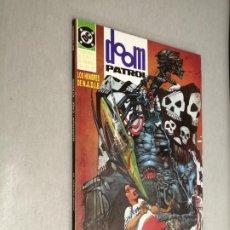 Comics: DOOM PATROL: LOS HOMBRES DE N.A.D.I.E. NADIE - TERCERA SERIE LIBRO UNO / GRANT MORRISON / DC - ZINCO. Lote 203325095
