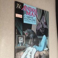 Comics: ANIMAL MAN CARNE Y SANGRE - LIBRO DOS / JAMIE DELANO - STEVE PUGH / DC VÉRTIGO - ZINCO. Lote 203341137