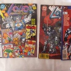 Cómics: LOBO- 4 NUMEROS ESPECIALES. EDICIONES ZINCO. Lote 203349940