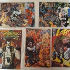 Cómics: LOBO - 5 NÚMEROS. (DOS TAPA SEMIDURA). EDICIONES ZINCO Y NORMA EDITORIAL. Lote 203350213