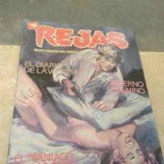 Cómics: REVISTA REJAS Nº6 - RELATOS GRÁFICOS PARA ADULTOS - EDICIONES ZINCO S.A. Lote 203403038