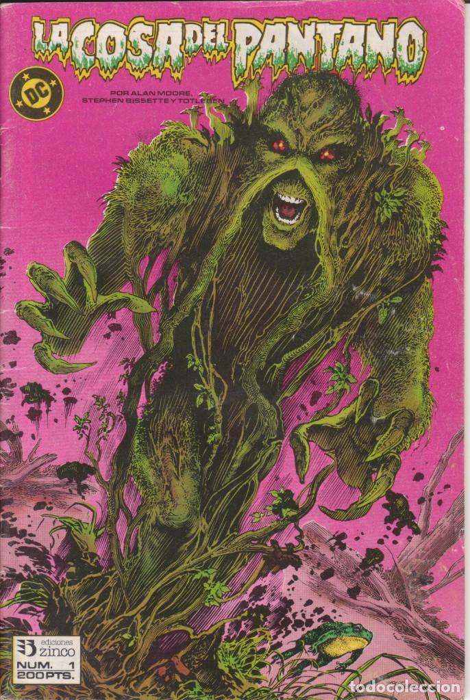 CÓMIC ` LA COSA DEL PANTANO ´ Nº 1 ED. ZINCO FRMTO. U.S.A. 50 PGS. 1988 (Tebeos y Comics - Zinco - Cosa del Pantano)