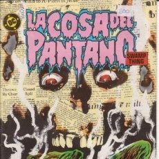 Cómics: CÓMIC ` LA COSA DEL PANTANO ´ Nº 2 ED. ZINCO FRMTO. U.S.A. 34 PGS. 1988. Lote 203415478