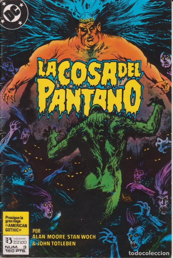 CÓMIC ` LA COSA DEL PANTANO ´ Nº 3 ED. ZINCO FRMTO. U.S.A. 34 PGS. 1988 (Tebeos y Comics - Zinco - Cosa del Pantano)