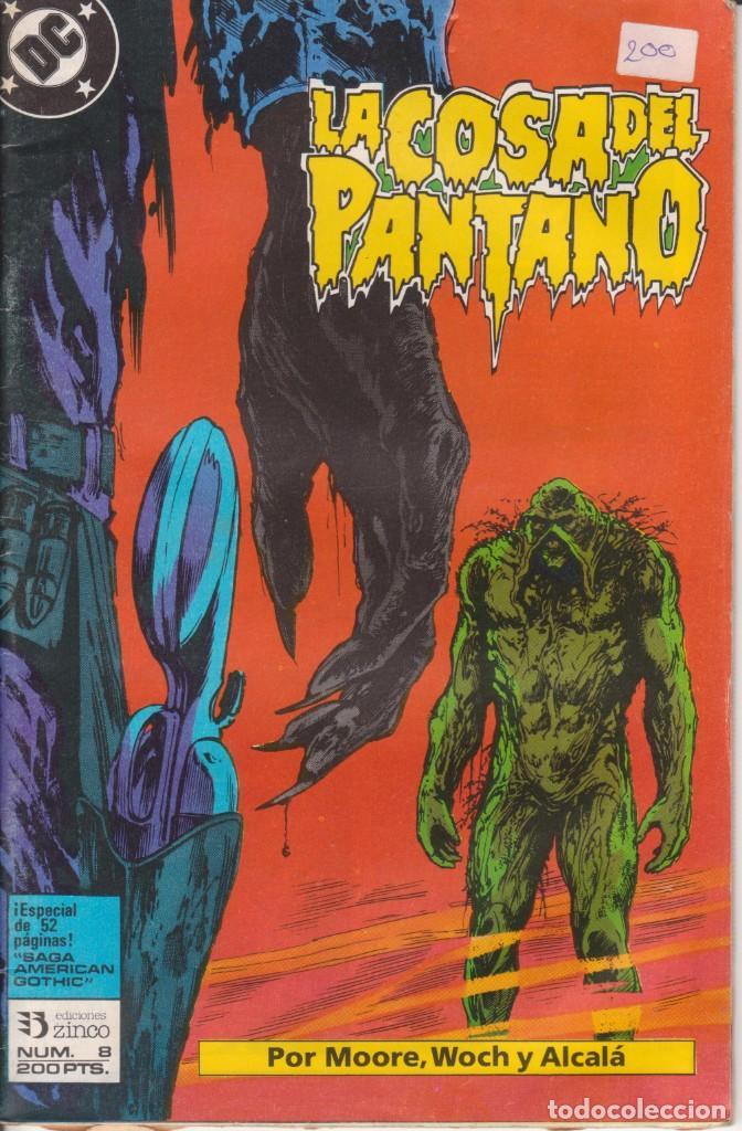 CÓMIC ` LA COSA DEL PANTANO ´ Nº 8 ED. ZINCO FRMTO. U.S.A. 50 PGS. 1988 (Tebeos y Comics - Zinco - Cosa del Pantano)