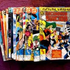 Comics: ESCUADRÓN SUICIDA. COLECCIÓN COMPLETA+ESPECIAL NAVIDAD. Lote 203416813