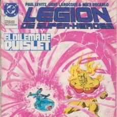 Cómics: CÓMIC ` LEGIÓN DE SUPER-HEROES ´ Nº 26 ED. ZINCO FRMTO. U.S.A. 34 PGS. 1988. Lote 203428231