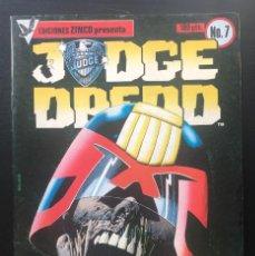 Comics: JUDGE DREDD. Nº 7 EDICIONES ZINCO. 1984. Lote 203428593
