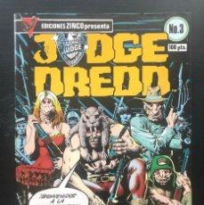 Comics: JUDGE DREDD. Nº 3 EDICIONES ZINCO. 1984 BUEN ESTADO. Lote 203429020