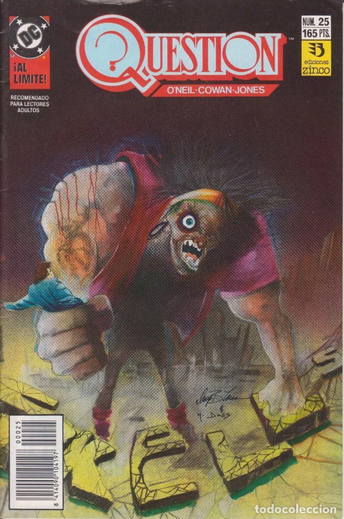 CÓMIC ` QUESTION ´ Nº 25 ED. ZINCO FRMTO. U.S.A. 34 PGS. 1989 (Tebeos y Comics - Zinco - Question)