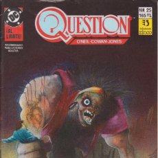 Cómics: CÓMIC ` QUESTION ´ Nº 25 ED. ZINCO FRMTO. U.S.A. 34 PGS. 1989. Lote 203431458