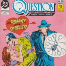 Cómics: CÓMIC ` QUESTION ´ Nº 26 ED. ZINCO FRMTO. U.S.A. 34 PGS. 1989. Lote 203431873