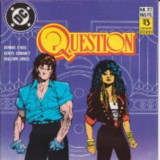 Cómics: CÓMIC ` QUESTION ´ Nº 27 ED. ZINCO FRMTO. U.S.A. 34 PGS. 1989. Lote 203432466