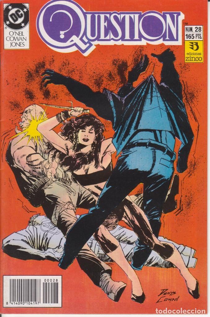 CÓMIC ` QUESTION ´ Nº 28 ED. ZINCO FRMTO. U.S.A. 34 PGS. 1989 (Tebeos y Comics - Zinco - Question)