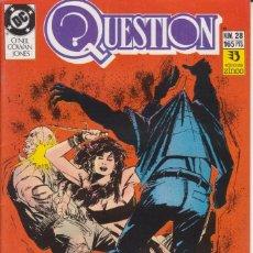 Cómics: CÓMIC ` QUESTION ´ Nº 28 ED. ZINCO FRMTO. U.S.A. 34 PGS. 1989. Lote 203433047