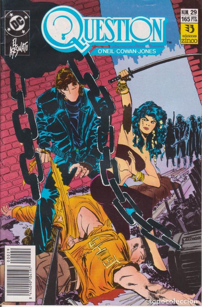 CÓMIC ` QUESTION ´ Nº 29 ED. ZINCO FRMTO. U.S.A. 34 PGS. 1989 (Tebeos y Comics - Zinco - Question)