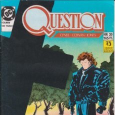 Cómics: CÓMIC ` QUESTION ´ Nº 30 ED. ZINCO FRMTO. U.S.A. 34 PGS. 1989. Lote 203434438