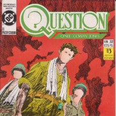 Cómics: CÓMIC ` QUESTION ´ Nº 32 ED. ZINCO FRMTO. U.S.A. 34 PGS. 1989. Lote 203435531