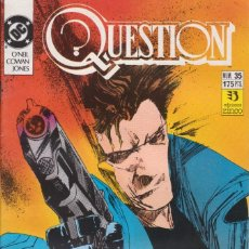 Cómics: CÓMIC ` QUESTION ´ Nº 35 ED. ZINCO FRMTO. U.S.A. 34 PGS. 1989. Lote 203435911