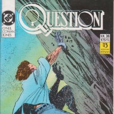 Cómics: CÓMIC ` QUESTION ´ Nº 36 ED. ZINCO FRMTO. U.S.A. 34 PGS. 1989. Lote 203436073