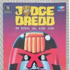 Cómics: JUEZ DREDD. EN BUSCA DEL NIÑO JUEZ. TOMO UNICO. EDICIONES ZINCO 1992. Lote 203486882
