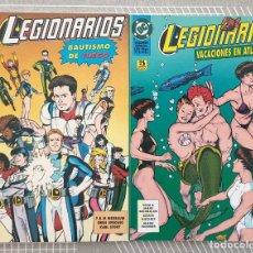 Cómics: LEGIONARIOS. COLECCIÓN COMPLETA DE 2 TOMOS EDICIONES ZINCO 1996. Lote 203572543