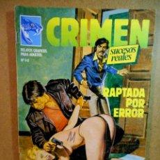 Comics: CRIMEN Nº 60. Lote 203959560