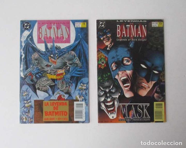 Cómics: 8 COMICS: LEYENDAS BATMAN - Foto 3 - 204121908