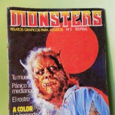 Cómics: MONSTERS RELATOS EROTICO-TERRORIFICOS EDICIONES ZINCO 1981. Lote 204162212