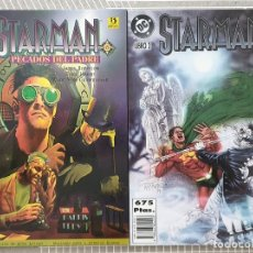Cómics: STARMAN. COLECCIÓN COMPLETA DE 2 TOMOS. EDICIONES ZINCO 1996. Lote 204187711