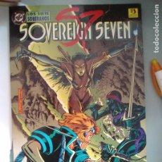 Cómics: SOVEREIGN SEVEN LOS SIETE SOBERANOS / SEV2020. Lote 204355416