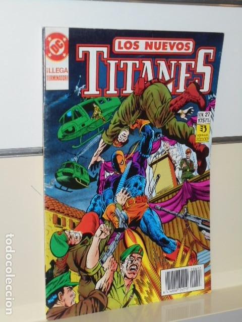 LOS NUEVOS TITANES VOL. 2 Nº 27 - ZINCO (Tebeos y Comics - Zinco - Nuevos Titanes)