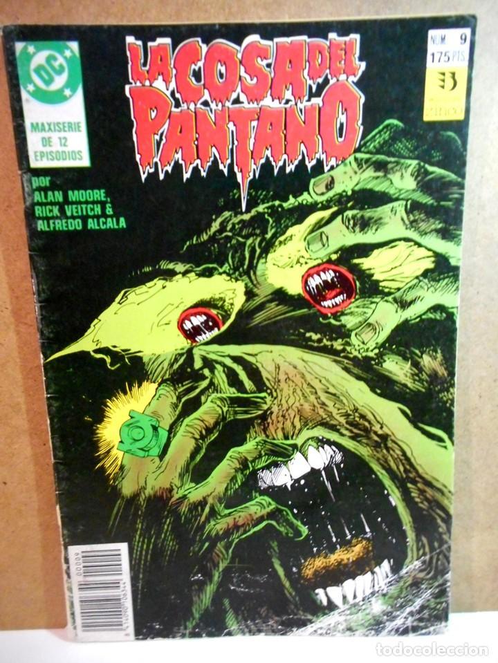 LA COSA DEL PANTANO Nº 9 (Tebeos y Comics - Zinco - Cosa del Pantano)