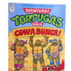 Cómics: AVENTURAS TORTUGAS NINJA 22. COWABUNGA. ZINCO, 1990. OFRT. Lote 262340585