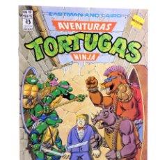 Cómics: AVENTURAS TORTUGAS NINJA 12. LA PELEA ESTÁ SERVIDA. ZINCO, 1990. OFRT. Lote 262340620