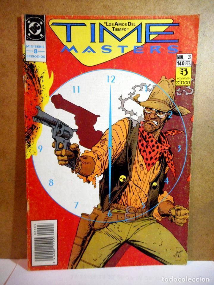 TIME MASTERS LOS AMOS DEL TIEMPO Nº 3 (Tebeos y Comics - Zinco - Otros)