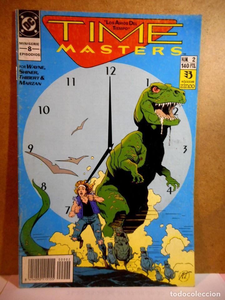 TIME MASTERS LOS AMOS DEL TIEMPO Nº 2 (Tebeos y Comics - Zinco - Otros)