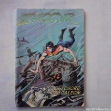 Cómics: ZAGOR. EL TESORO DEL GALEÓN. EDICIONES. ZINCO. 1983.. Lote 204982040