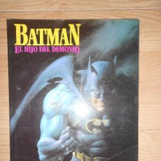 Cómics: BATMAN EL HIJO DEL DEMONIO - MIKE W. BARR / JERRY BINGHAM - DC - ZINCO. Lote 205013576