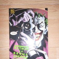 Cómics: BATMAN LA BROMA ASESINA - ALAN MOORE / BRIAN BOLLAND / JOHN HIGGINS - DC - ZINCO. Lote 205013842