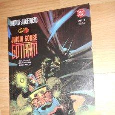 Cómics: BATMAN JUDGE DREDD JUICIO SOBRE GOTHAM - ALAN GRANT / JOHN WAGNER / SIMON BISLEY - DC - ZINCO. Lote 205014067